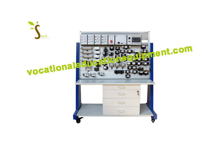 PLC Pneumatic Control / Pneumatic Training Equipment ZMP1104 For Colleges