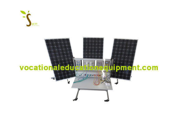 Educational Photovoltaic System / Renewable Energy Training With Grid Connection