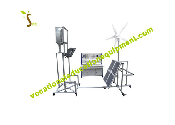 Solar / Wind Energy Training Renewable Energy Lab Equipment For Vocational School