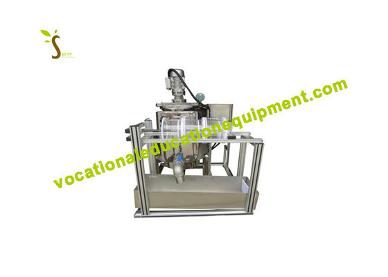 SS5002 Educational Training Equipment Curd Cheese / Food Machine Trainer