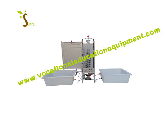 Deep Bed Filter Fluid Mechanics Lab Equipment with Column Demonstration Capabilities